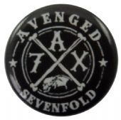 Avenged Sevenfold - 'A7X' Button Badge